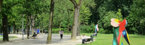 Area Vondelpark apartments