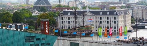 Plantage district near Nemo apartments