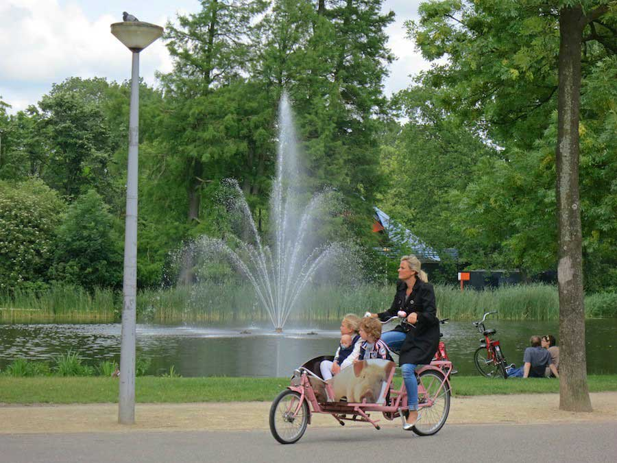 Parks and Gardens in Amsterdam: Vondelpark